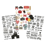 Simple Stories - Carpe Diem - Say Cheese III - Clear Sticker Sheets