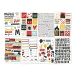 Simple Stories - Carpe Diem - Say Cheese III - 4x6 Sticker Sheets