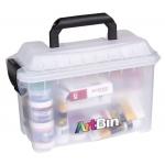"""Artbin® Mini Sidekick : Clear, Plastic, 11""""l x 5 1/2""""w x 7""""h, (model 6815AG), price per each"""