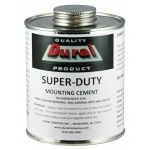 Dural Super-Duty Mounting Cement 16oz: 16 oz, (model SDMC16), price per each