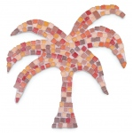 Blue Hills Studio™ Mini Mosaic Set - Red Earth: Brown, Red/Pink, Stone (Cuttable), Tile, (model BHS518), price per set