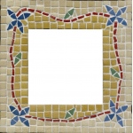 Blue Hills Studio™ Make Your Own Mosaic Mirror: Multi, Stone (Cuttable), Mirror, (model BHS512), price per set