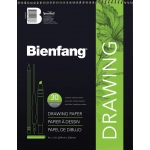 "Bienfang® 9"" x 12"" Raritan Drawing Paper Pad: White/Ivory, Pad, 30 Sheets, 9"" x 12"", Medium, 70 lb, (model 523WB-221), price per 30 Sheets pad"