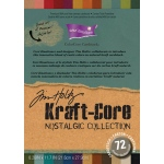 "Core'dinations Tim Holtz Kraft Core Assortment: A4 Size, 8.26"" x 11.7"""