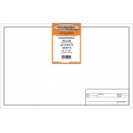 "Clearprint® 1000HTS Series 11 x 17 Unprinted Vellum Title Block/Border 100-Sheet-Pack: Sheet, Unprinted, 100 Sheets, 11"" x 17"", 16 lb, (model CP10221516), price per 100 Sheets"