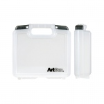 "ArtBin 10"" Quick View Deep Base Carrying Case: Clear Transparent"