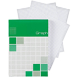 "Alvin® Saray Graph Pad 4.3 x 6.7; Format: Pad; Grid Size/Pattern: 5"" x 5""; Quantity: 80 Sheets; Size: 4.3"" x 6.7""; Type: Graph; Weight: 20 lb; (model ALG14), price per 80 Sheets pad"