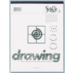 "Seth Cole 18"" x 24"" Drawing Paper Pad; Color: White/Ivory; Format: Pad; Quantity: 24 Sheets; Size: 18"" x 24""; Weight: 80 lb; (model SC64C), price per 24 Sheets pad"