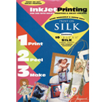 "Jacquard Silk for Inkjet Printing: 8 1/2"" x 11"", 10-Sheet Pack"