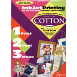 "Jacquard Cotton for Inkjet Printing: Sheet, Cotton, 10 Sheets, 8 1/2"" x 11"", (model JAC9701), price per 10 Sheets"
