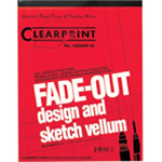 "Clearprint® 1000HP Series 8.5 x 11 Vellum Design and Sketch 50-Sheet Pad Isometric Grid; Format: Pad; Grid Size/Pattern: Isometric; Quantity: 50 Sheets; Size: 8 1/2"" x 11""; Weight: 16 lb; (model CP10005410), price per 50 Sheets pad"