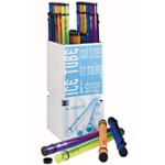 Alvin® Ice Tubes Display: Plastic, (model MT2537D), price per each