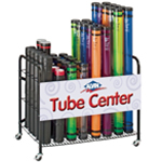 Alvin® Plastic Mailing Tube Display; (model PMT200D), price per each