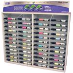 Chartpak® AD™ Marker Display; Color: Multi; Ink Type: Xylene-Based; Tip Type: Tri-Nib; (model MKR48D), price per each