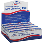 Alvin® Professional Drafting Dry Cleaning Pad Display/36; Material: Gum; Type: Manual; (model 1238D), price per each