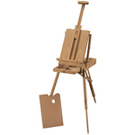 Heritage Arts™ de Leon Classic French Wooden Easel: Wood, Artist, (model HWE208), price per each