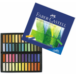 Faber-Castell® Creative Studio Soft Pastel 48-Color Set; Color: Multi; Format: Stick; Type: Soft; (model FC128248), price per set