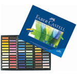 Faber-Castell® Creative Studio Soft Pastel 72-Color Set; Color: Multi; Format: Stick; Type: Soft; (model FC128272), price per set