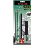 General's® Getting Started™ with Graphite Set: Black/Gray, 2B, 4B, 6B, Drawing, (model 97139BP), price per set