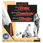General's® Learn To Draw Now!™ How to Draw Kit; Format: Book; (model G30K), price per set