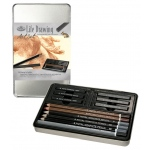 Royal & Langnickel® Life Drawing Small Tin Art Set; Color: Multi; Type: Drawing; (model RSET-ART2501), price per set