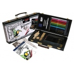 Royal & Langnickel® Sketching & Drawing for Beginners Set; Color: Multi; Format: Pencil; (model RSET-DS3000), price per set