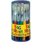 Princeton™ Big Brush Bucket Display; Style: Flat; (model 5950FCD), price per each