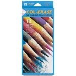 Col-Erase Erasable Color Pencil: 12-Color Set