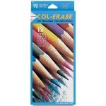 Col-Erase Erasable Color Pencil: 12-Color Set