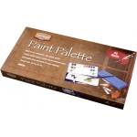 "Heritage Arts™ Paint Palette 24 Wells: Cover, Plastic, 24 Wells, Rectangle, 6 1/4"" x 12 1/2"", (model HWP24), price per each"