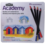 Derwent Academy Colored Pencil: 24-Piece Set, Tin