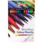 Koh-I-Noor® Woodless Pencil 12-Color Set: Multi, (model FA8756-12), price per set