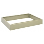 "Safco Steel Flat File: Closed Base, Sand, 6"" x 40 3/8"" x 26 5/8"""