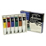 Winsor & Newton™ Artisan Water Mixable Oil 6-Color Starter Set: Multi, Tube, 37 ml, Oil, (model 1590264), price per set