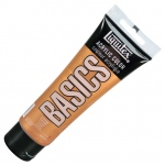 Liquitex® Basics Acrylic Color 4oz Copper: Metallic, Tube, 118 ml, Acrylic, (model 1046230), price per tube