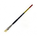 Princeton Snap! Bristle Long Handle Oil and Acrylic Brush: Angle Bright 10