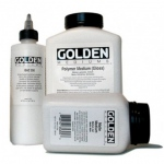 Golden Polymer Gloss Medium: 128 oz. (3.78 Liter) Jug
