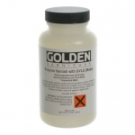 Golden® Polymer Varnish with UVLS Matte 8 oz.: Matte, 236 ml, 8 oz, Varnish, (model 0007720-5), price per each
