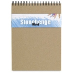 "Stonehenge® Versatile Artist Journal Cream 9"" x 12"": Wire Bound, White/Ivory, Pad, 9"" x 12"", (model L21-SPR250CR912), price per each"