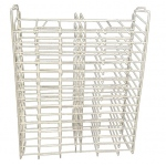 "Art Wire Works Stackable Paper Display: Racks for 12"" x 12"", 30 Facing"