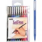 Marvy LePen Fineline Markers: 10-Piece Set