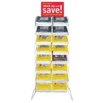 Strathmore® 100 Series Slim Line Empty Merchandiser Rack: Display Rack, (model ST79-285-1), price per each