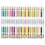 Crayola® 24-Color Erasable Colored Pencil Set: Multi, Drawing, (model 68-2424), price per set