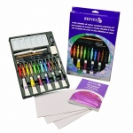 Reeves Complete Water Mixable Oil Color Painting Set