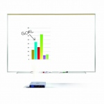 Ghent® Proma® Projection Surface/Porcelain Markerboard  4' x 4'; Size: 4' x 4'; Type: Dry Erase; (model PRM1-44-4), price per each