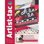 "Grafix® Artist-Tac™ 8 1/2"" x 11"" Adhesive Sheets; Format: Sheet; Quantity: 25 Sheets; Size: 8 1/2"" x 11""; (model KATP8511-25), price per 25 Sheets"