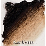 Professional Permalba Raw Umber: 37ml Tube