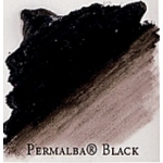 Professional Permalba Black Oil Color: 37ml, Tube