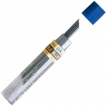Pentel Hi-Polymer Colored Lead: Blue, .5mm, Tube of 12 leads