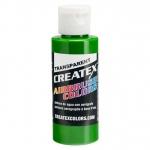 Createx™ Airbrush Colors Transparent Tropical Green 32oz: Green, 2 oz, (model 5116-32), price per each